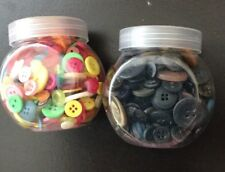 BUCKET OF BUTTONS FOR CRAFTS BY BEAD LANDING 10 OZ//284G BRAND NEW