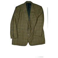 BURBERRYS Herren Karo Luxus Sakko Blazer Jacke Business Anzug Gr.27 XL kariert