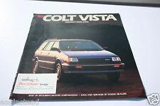 Auto Brochure - Dodge - Colt Vista - 1988 - Mitsubishi (AB304) - OS