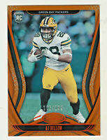 2020 Panini Certified MIRROR ORANGE #124 AJ DILLON RC Rookie 105/199 Packers