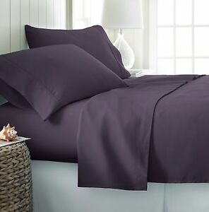 Egyptian Comfort Hotel Quality Bed Sheets - Deep Pocket 4 Piece Set