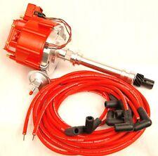Chevy 396, 402, 427, 454 Big Block HEI Distributor & Moroso Spark Plug Wire Set