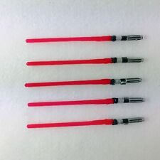 "Lot of 5pcs Red Star War Light Saber Lightsabers for 3.75"" Action Figure Toys"