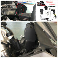 Professional Windhield Wind Elevator Remote Control Switch For BMW R1200GS ADV