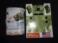 MILITARY HUMVEE Model Kit Wood HOME DEPOT KIDS WORKSHOP Humvee Camouflage Decals