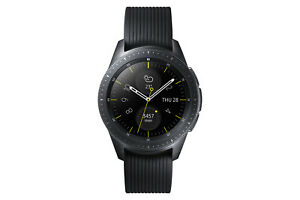 Samsung Galaxy Watch SM-R810 42mm Midnight Black Case Classic Buckle Onyx
