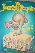SMASHING PUMPKINS POSTER ORIG BILL GRAHAM BGP158 West Coast 1996 Kalynn Campbell