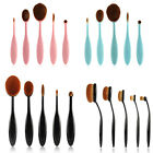 5pcs Toothbrush Shaped Foundation Power Makeup Oval Cream Puff Brushes Kit