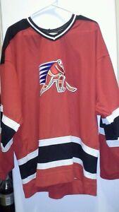 CCM Canada 1928-1998 Coca-Cola Sponsor NAGANO OLYMPICS # 98 Red Hockey Jersey XL