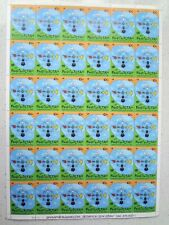 KYRGYZSTAN: 2001 Year of Dialogue among Civilization LARGE SHEET 36 stamps MNH