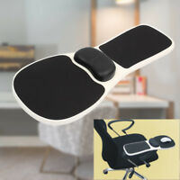Chair Armrest Mouse Pad Arm Wrist Rest Mosue Pad Hand Shoulder Support Pads