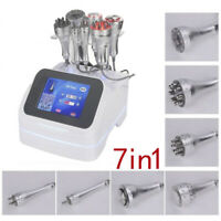 7in1 Radio Frequency Ultrasonic 40k Cavitation RF Vacuum Slim Beauty Machine CE