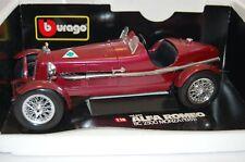Burago Die-cast Metal and Plastic Alfa Romeo 8C 2300 Monza 1931 1/18