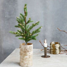NORDIC MINI CHRISTMAS TREE WITH LIGHTS - SMALL