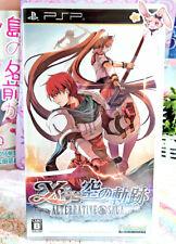 Ys Vs. Sora no Kiseki Alternative Saga Sony PSP Spiel Normal Edition Japan Rare