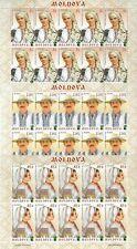 MOLDAVIA 2012 743/775 20° Anniversario - Costumi Tradizionali - New 3 Sheet