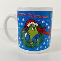 Vintage 90s The Grinch Coffee Mug Extra Large Merry Grinchmas Christmas
