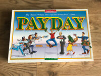 Waddingtons Payday Board Game, 1994 Vintage Family Fun Missing Instructions Only
