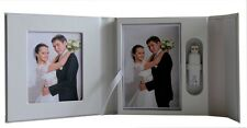 White USB case presentation box DVD/CD case, box. 2P. Wedding, Christening