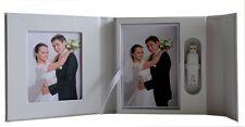 White USB case presentation box DVD/CD case, box. 2P. Wedding, Christening
