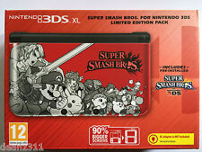 SUPER SMASH BROS. FOR NINTENDO 3DS XL LIMITED EDITION Console + Game UK VERS NEW