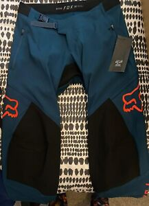 Fox Defend Pants Indigo Size 32 2021 Collection