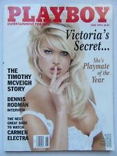 US Playboy 6/1997, Victoria Sylvstedt, Carmen Electra,