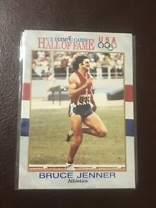 U.S. OLYMPIC CARDS-HALL OF FAME-BRUCE JENNER-ATHLETICS-1991-KARDASIAN-KAITLAN