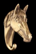 Horse Head Bronze Wall Coat Hook Sculpture Statue Animal Contemporary 39400