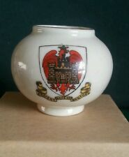 Arcadian Crested Ware Urn - Ancient Arms of Bedford
