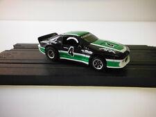 Aurora Afx,Tomy Black Green Chevy Camaro Slot Car HO,Sharp**