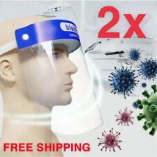 2 PCS Reusable Face Shield Anti-dust, Anti-droplets, Anti-fog, Protection 2 Pack