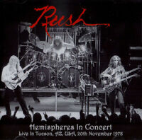 "RUSH : ""Hemispheres In Concert 1978"" (RARE 2 CD)"