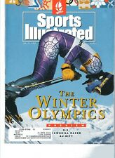 SPORTS ILLUSTRATED MAGAZINE- January 27, 1992 - The Winter Olympics on cover