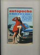 (102) AUTOPOCHE N°33/1971 RENAULT 8 / M 35/ RENAULT RODEO...