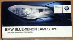 BMW Blue-Xenon Lamp Upgrade OEM D2S xenon Light Bulb Pair BRAND NEW