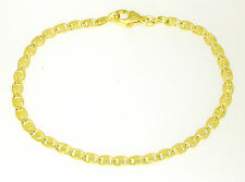 Fantasy Ladies Gold Bracelet 585 Yellow Gold 14 KT Solid 18 cm Long