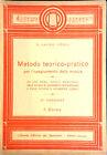METODO TEORICO-PRATICO PER L'INSEGNAMENTO DELLA MUSICA DI D. L. VIRGILIO 1 CORSO