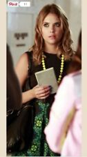 Hanna Marin Floral Dress And Necklace Pll
