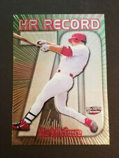 MARK MCGWIRE 1999 Topps Super Chrome 70 Home Run Record 5x7 Near Mint - RARE!