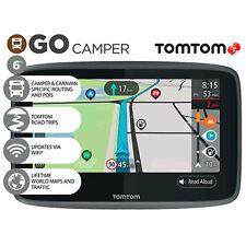 TomTom Go Camper GPS Wi-Fi SatNav Lifetime World Maps Traffic Speed Cameras