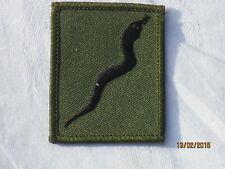 101 Logistic Brigade , Patch , TRF ,Abzeichen, Black Adder