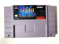 X-Kaliber 2097 SUPER NINTENDO SNES GAME Tested WORKING & Authentic!