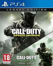 Call Of Duty:Infinite Warfare Legacy Edition PS4 - FAST & FREE POST - SOLD 215+