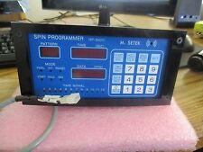 M. Setek Model: SP-3000 Spin Programmer.  Good Used Stock  <