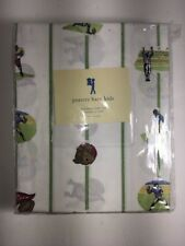 Pottery Barn Kids TWIN Vintage Football Sheet Set