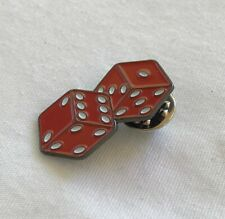 Biker Dice Tack Pin NEW Punk Rockabilly