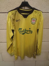 Maillot LIVERPOOL shirt REEBOK away trikot 2004 2006 manches longues L / S L