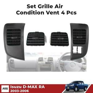 Set A/C Grille Air Condition Vent Fits 2003-2006 Isuzu D-Max Holden Rodeo Pickup