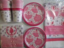 TUTU BALLERINA - Birthday Party Supplies Set Pack Kit 16